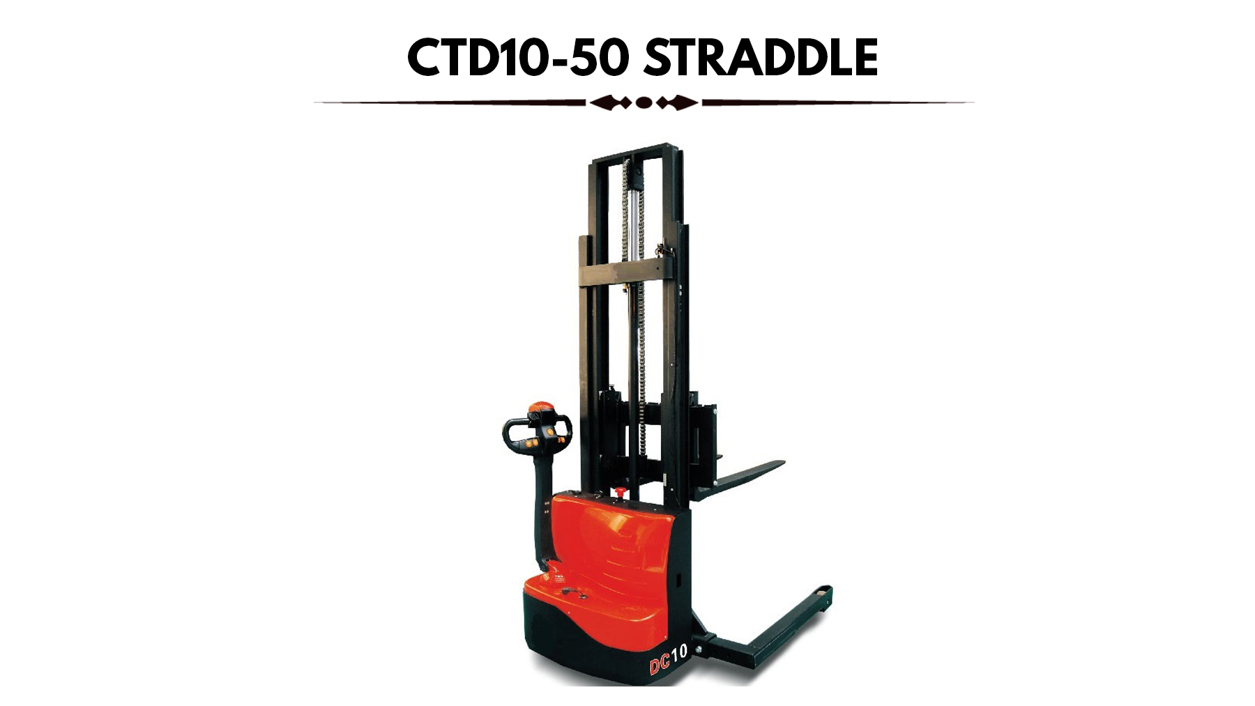 Straddle Stacker